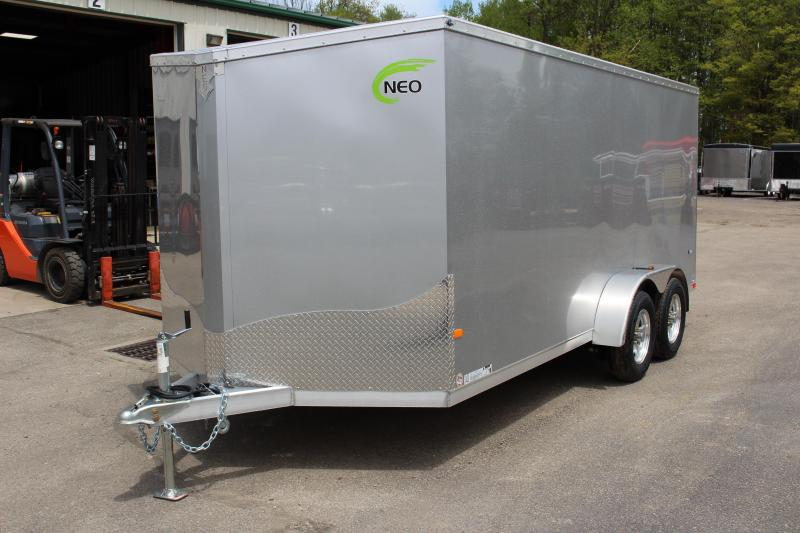 2020 NEO Trailers NAV 7 x 16 Enclosed Cargo Trailer