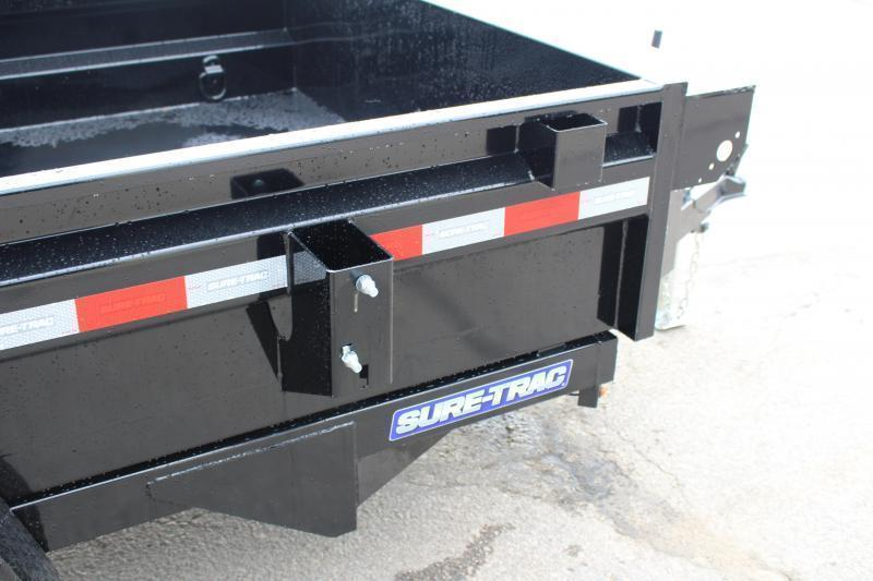 2021 Sure-Trac 5' x 8' Dump Trailer - 5000# GVW