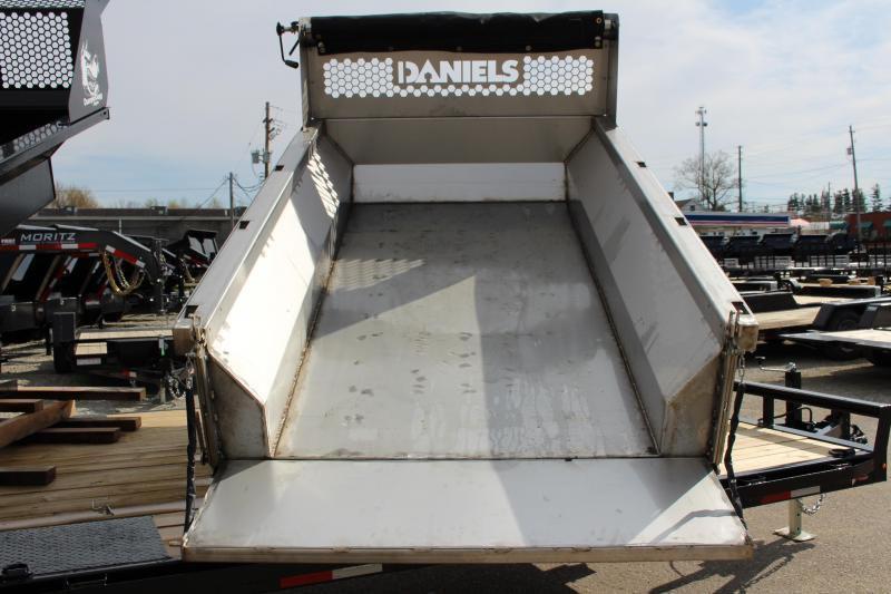 2021 Daniels Stainless Steel 8' Dump Insert - Long Bed