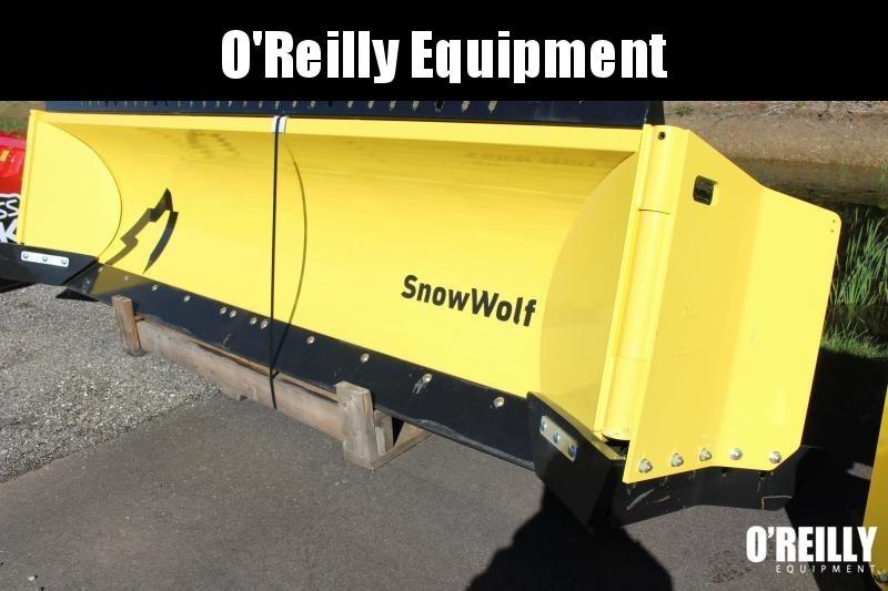 2021 SnowWolf QPHD-170 AutoWing Snow Plow