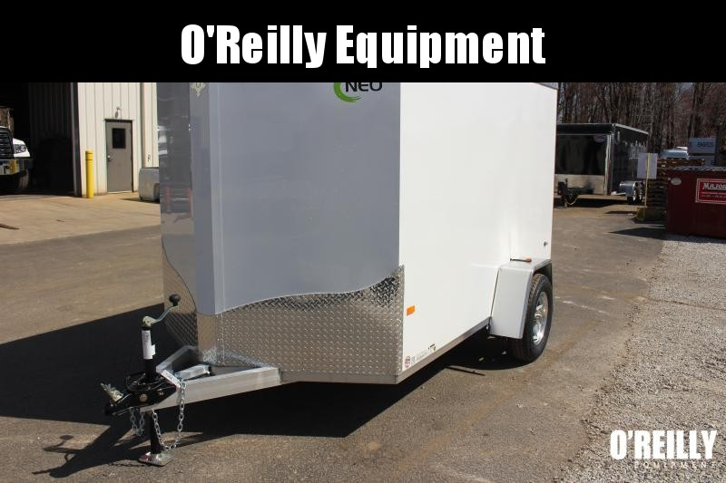 2021 NEO NAV 6' x 10'  Enclosed Trailer - Ramp Door - 2990# GVW