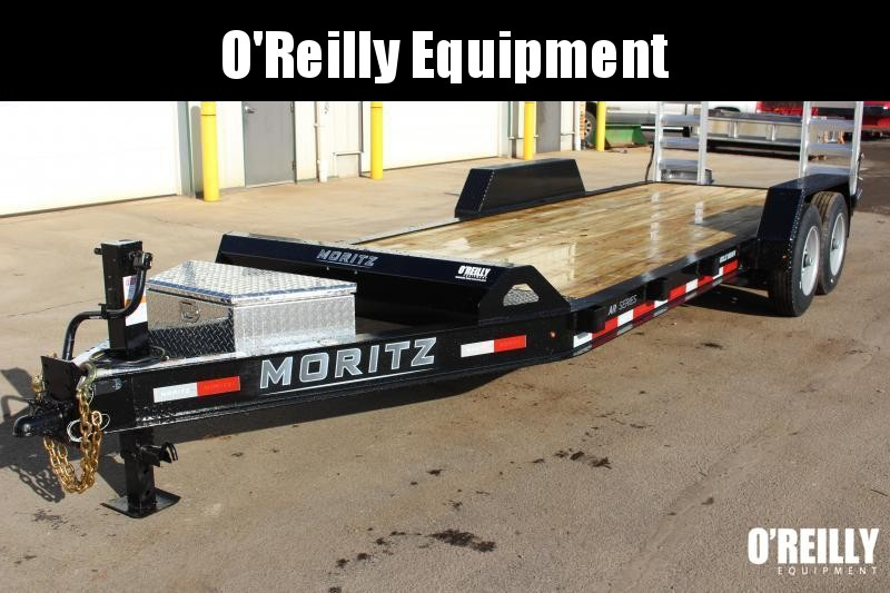 2021 Moritz 7' x 20' Equipment Trailer - 16000# GVW