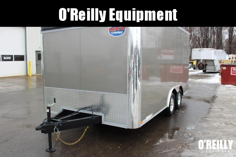"2021 United UXT 8' 6"" x 16' Enclosed Trailer - 7000# GVW -Ramp"
