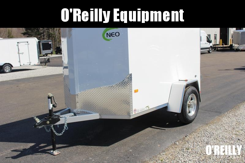 2021 NEO NAV 5' x 8'  Enclosed Trailer - Double Rear Door - 2990# GVW