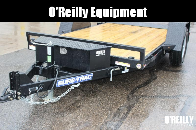 2021 Sure-Trac 7 x 12 TILT Equipment Trailer