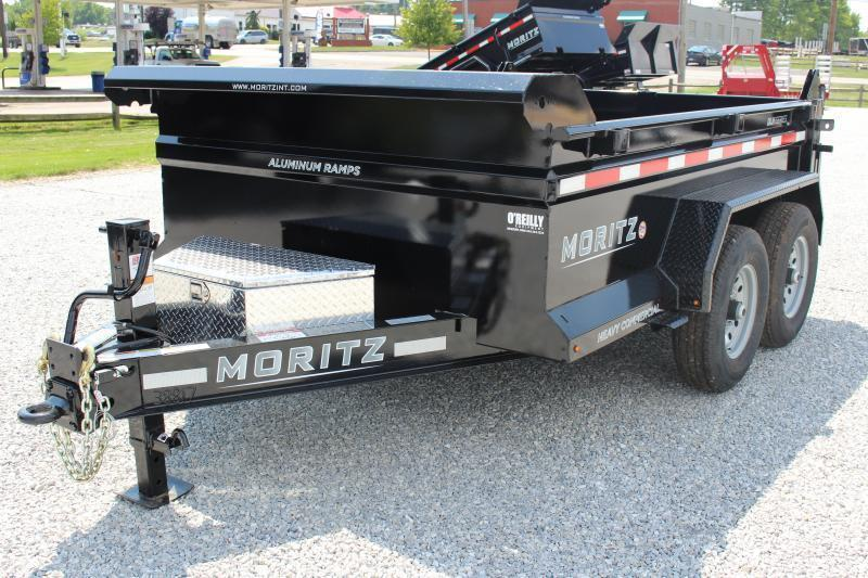 "2021 Moritz International 6'10""x10 HD Dump Trailer"
