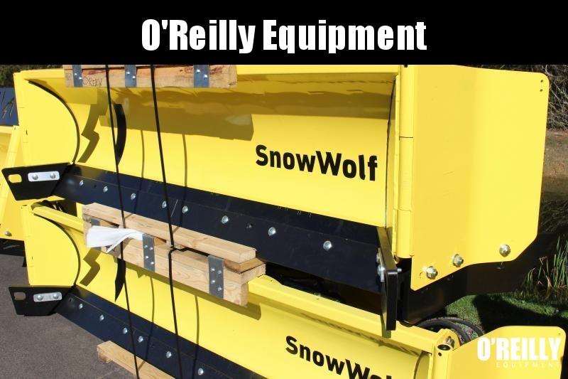 2021 SnowWolf QP-114 AutoWing Snow Plow
