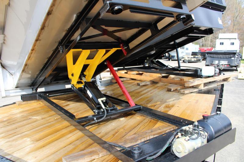 2020 Daniel Stainless Steel 8' Dump Insert Truck Bed