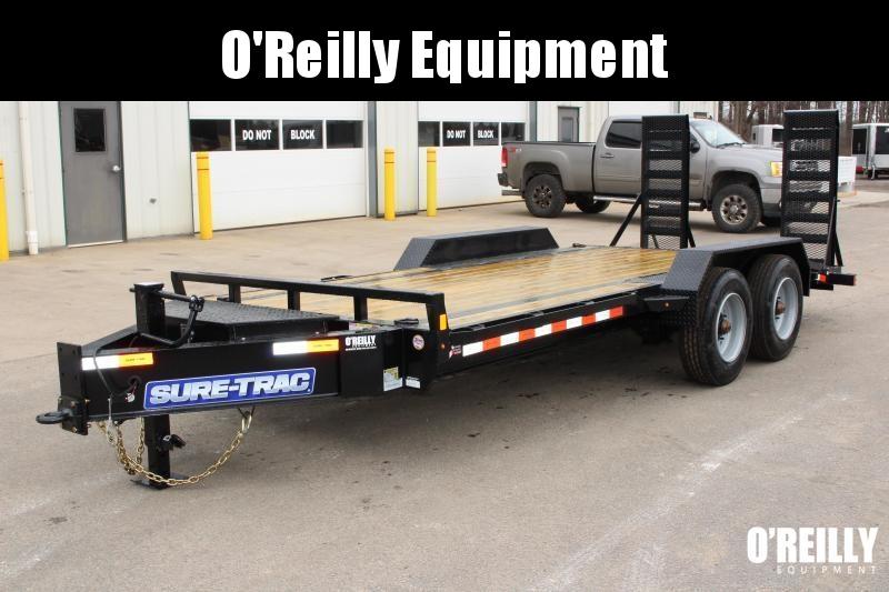 2021 Sure-Trac 7 x 20 Equipment Trailer