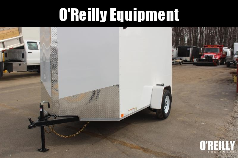 2021 United XLV 6' x 10' Enclosed Trailer - 2990# GVW -Ramp