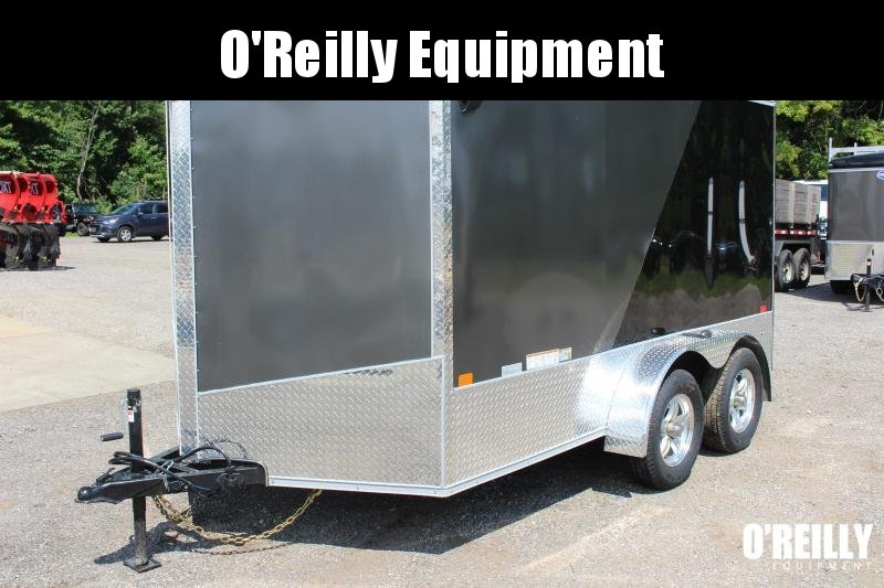 2021 United XLMTV 7' x 12' Motorcycle Trailer - 6' Interior Height