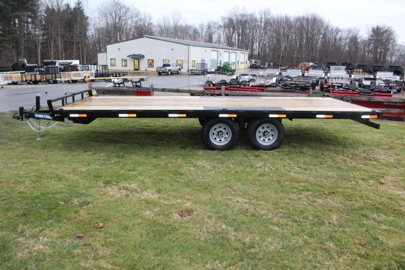 2021 Sure-Trac 8.5' x 20' Flatbed Trailer - 9900# GVW
