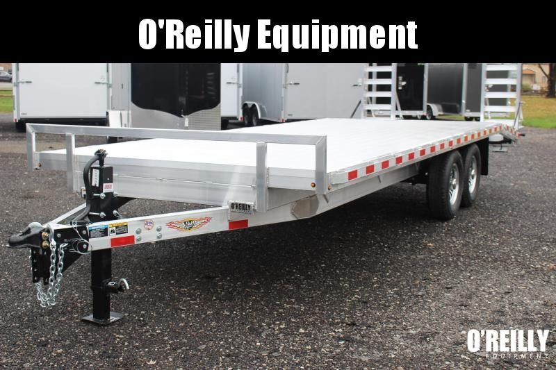 2021 H and H Trailer 8.5 x 22' Flatbed Trailer
