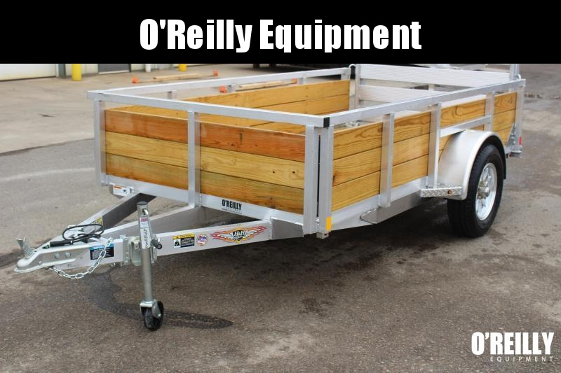 """2021 H and H Trailer 5'6"""" x 10' Utility Trailer"""