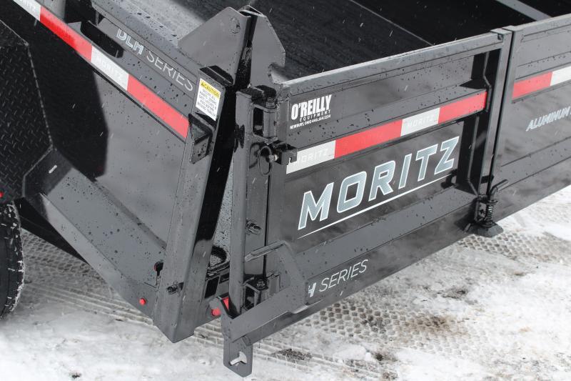 "2021 Moritz 6'10"" x 14' HD Dump Trailer - 14000# GVW Hyd Jack"