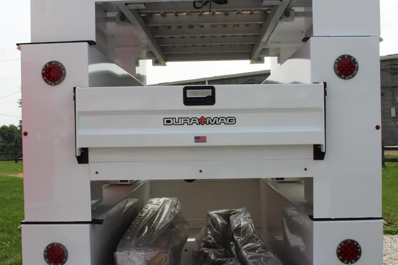 2022 Aluminum DuraMag Service Body SRW LONG BED - GM