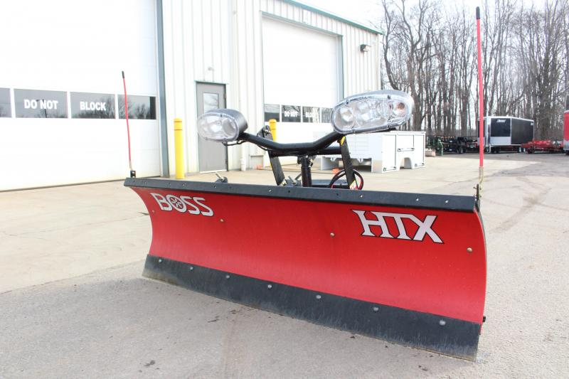 2012 BOSS 7'  POLY HTX Snow Truck Plow USED