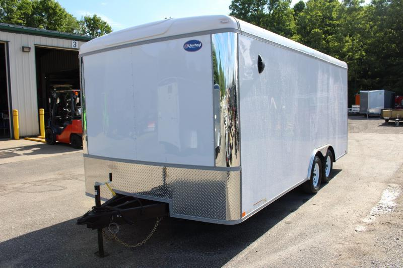 2021 United Trailers ULT 8.5X18 Enclosed Cargo Trailer