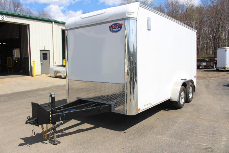 2021 United UXT 7' X 16' Enclosed Trailer - 7000# GVW