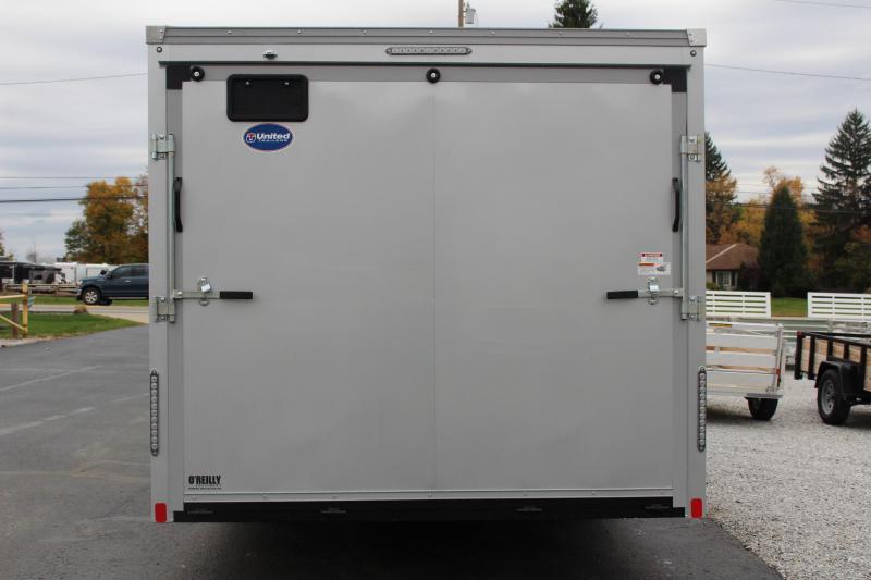 2021 United Trailers XLT 8.5 x 22  Enclosed Cargo Trailer