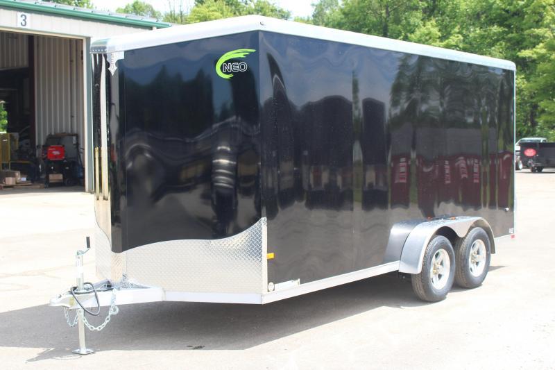 2021 NEO Trailers NAV 7 x 16 Enclosed Cargo Trailer