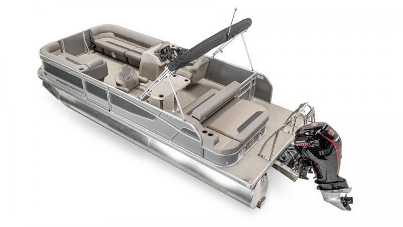 2022 Princecraft Vectra 23 RL Sport Pontoon Boat with 115hp PRO XSMercury