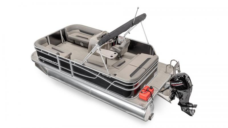 2022 Princecraft Vectra 19 Pontoon Boat with 40hp Mercury
