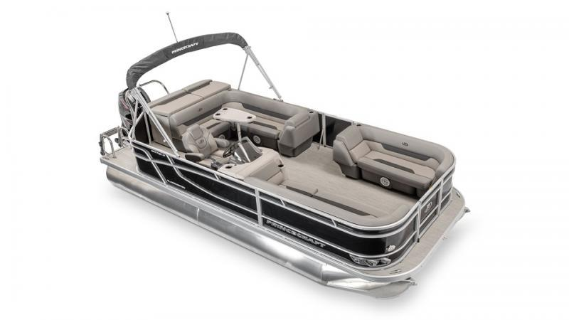 2022 Princecraft Vectra 21 Pontoon Boat with 60hp Mercury