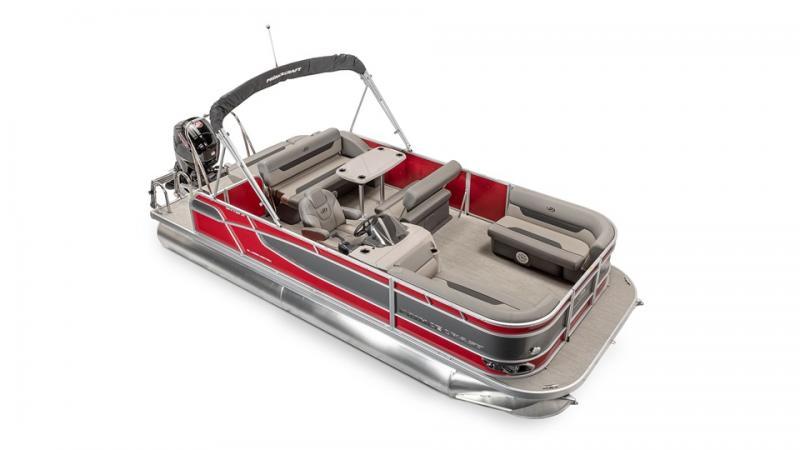 2022 Princecraft Vectra 21 RL Sport Pontoon Boat with 115hp Mercury