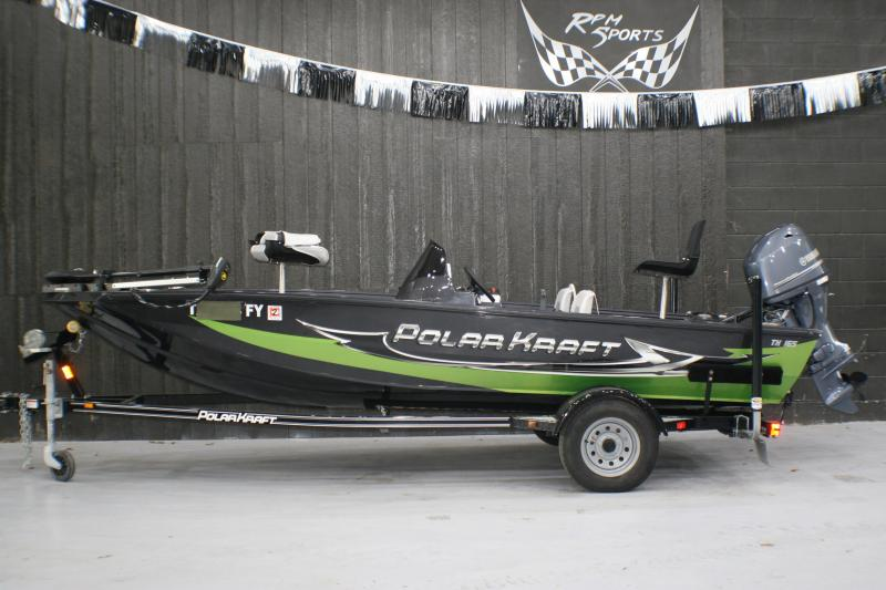 2019 PolarKraft TX 165 Fishing Boat