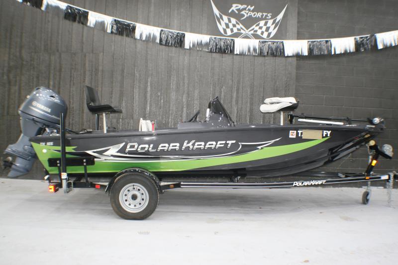 2019 PolarKraft TX 165 Fishing Boat