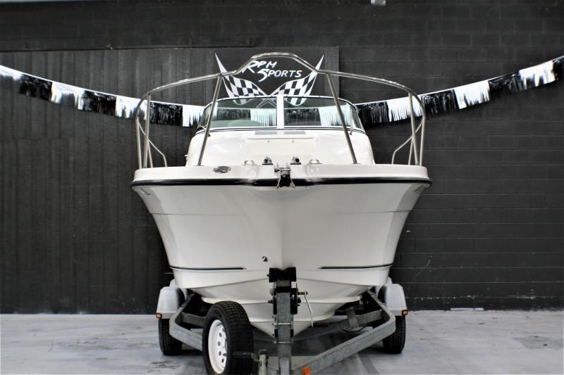 2008 Trophy PRO 2102WA Fishing Boat