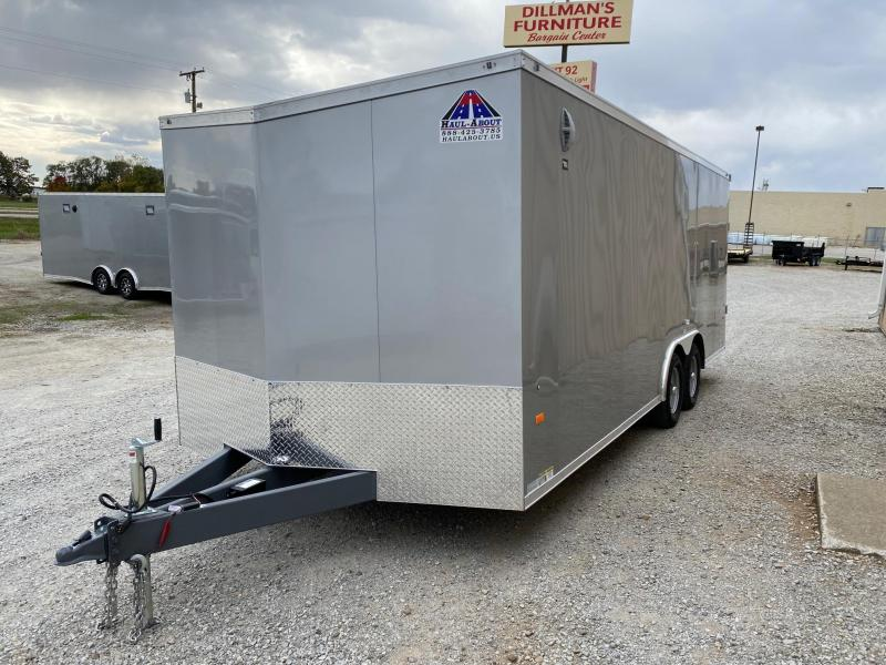 2020 Haul-About Panther 8.5x20 7K GVWR Enclosed Car Hauler $6600