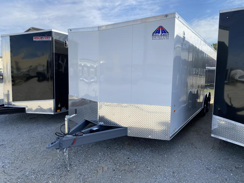 2020 Haul-About Panther 8.5x24 7K GVWR Enclosed Car Hauler $7625