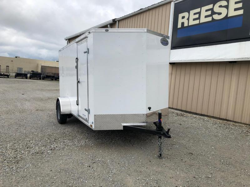 2021 Continental Cargo V-Series 6X12 Single Axle Cargo Trailer  $2500