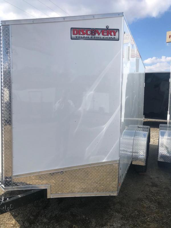 2022 Discovery Rover ET 6X12 7K GVWR Cargo Trailer $5800