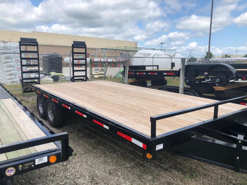 "2022 Quality Steel 102"" X 20' 14K GVWR Flatbed Trailer $7750"