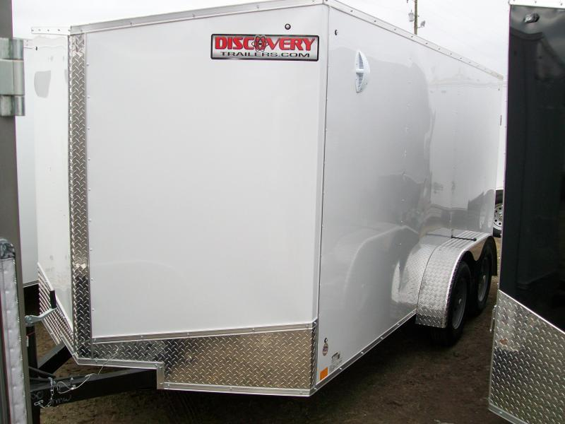 2021 Discovery Rover ET 7X14 7K GVWR Trailer $4100