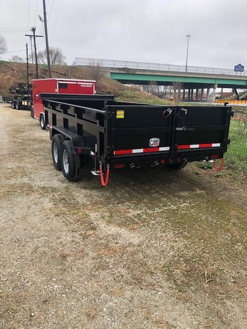 """2022 Quality Steel CJ 83""""X16' 14K GVWR Dump Trailer  $11925"""