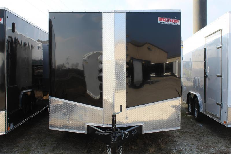2021 Discovery Challenger ET 8.5X24 7K GVWR Enclosed Car Trailer $5875