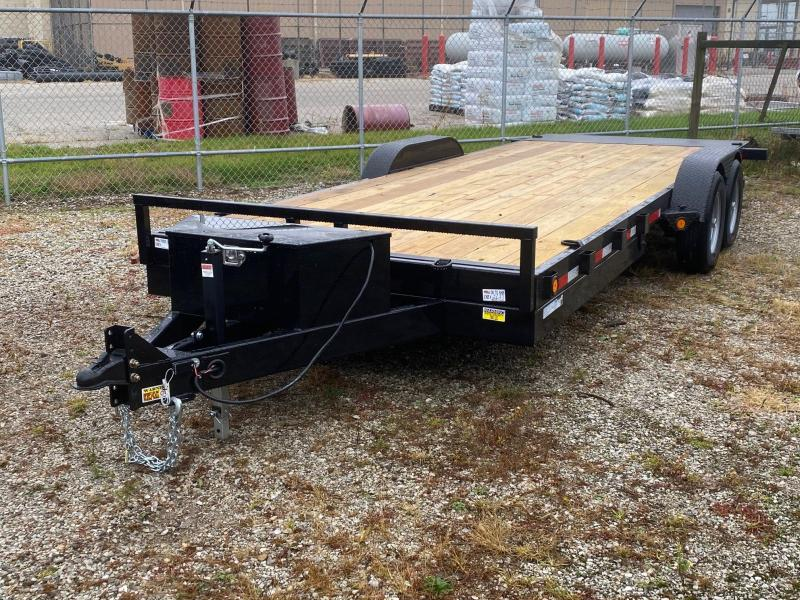 "2021 Quality Steel 83"" X 20' 10K GVWR Tilt Trailer $4880"