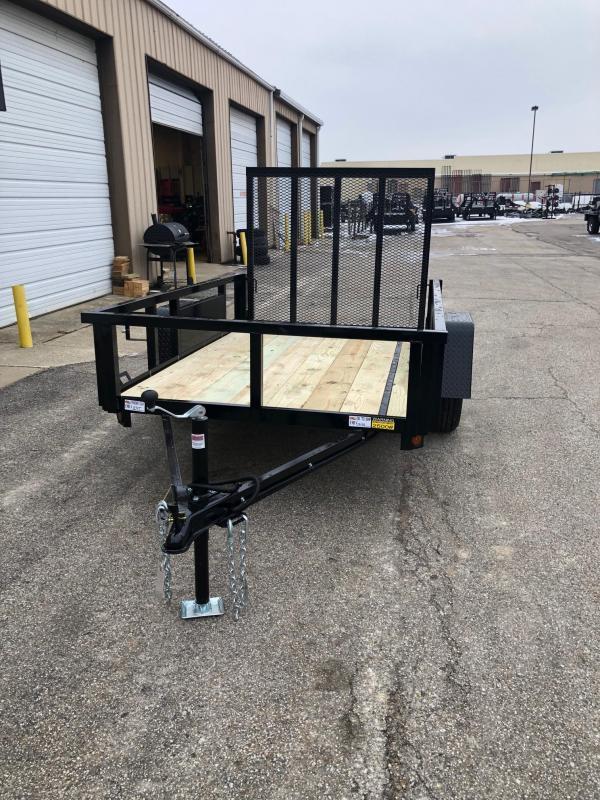 2022 Quality Steel 5X10 Single Axle Utility Trailer $2200