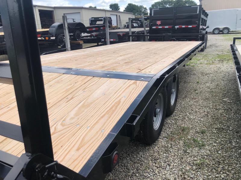 "2021 Quality Steel 102"" X 20' 14K GVWR Flatbed Trailer $5250"