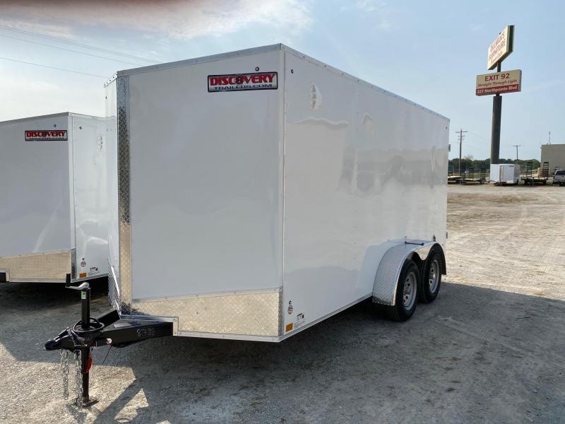 2021 Discovery Rover ET 7X14 7K GVWR Cargo Trailer $4490