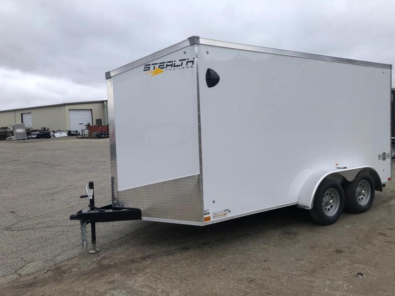 2021 Stealth Mustang 7X14 7K GVWR Cargo Trailer $4800