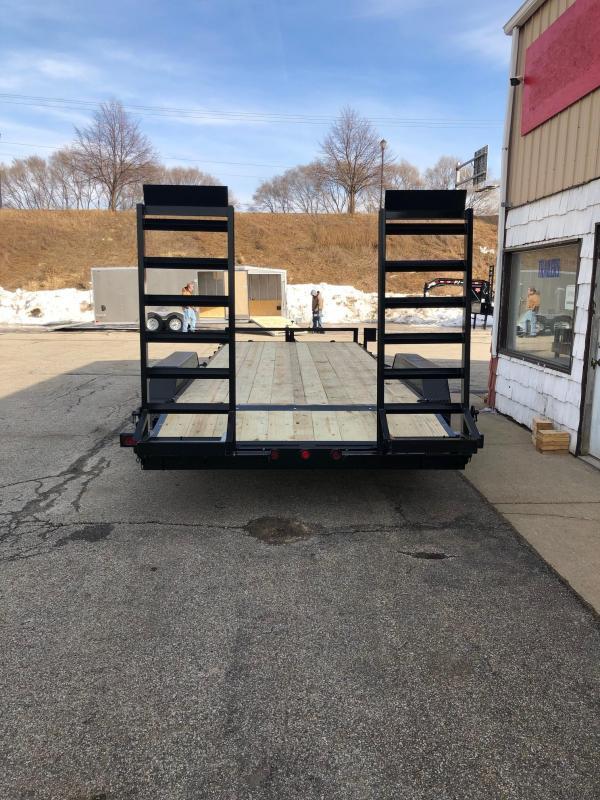 "2022 Quality Steel 83""X20' 14K GVWR Equipment Trailer $6700"