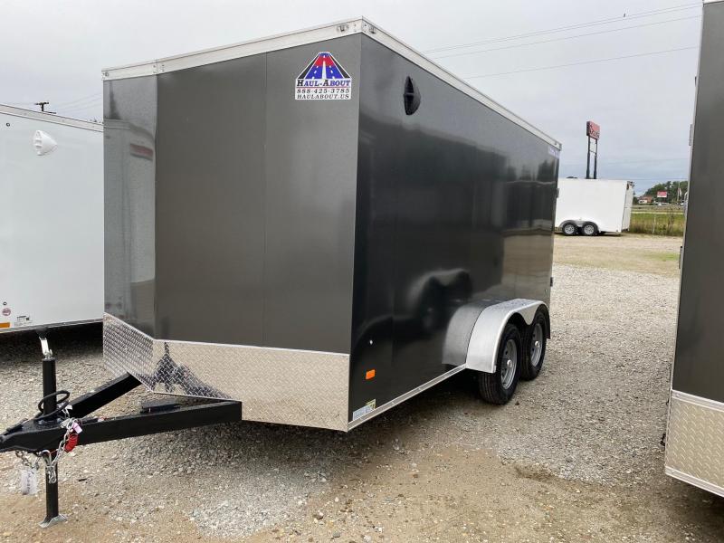 2022 Haul-About Cougar 7x14 7K GVWR Enclosed Cargo Trailer $7800
