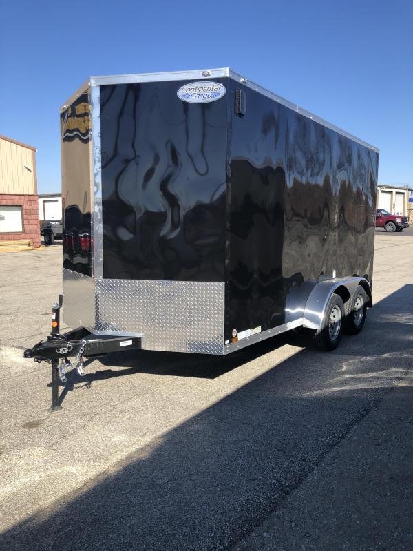 2021 Continental Cargo 7X14 7K GVWR Trailer $4900