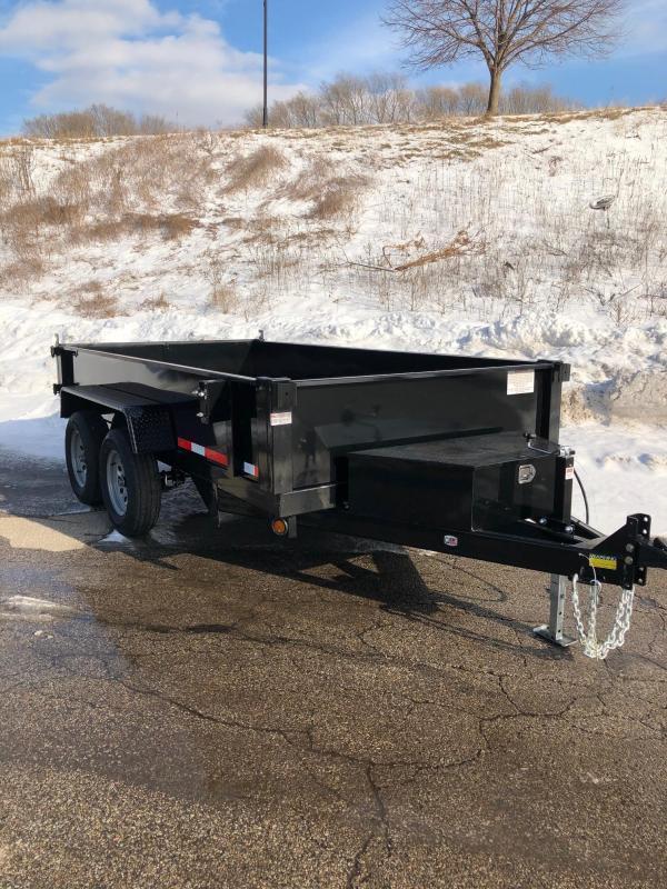 2022 Quality Steel 6X12 7K GVWR Dump Trailer $7595