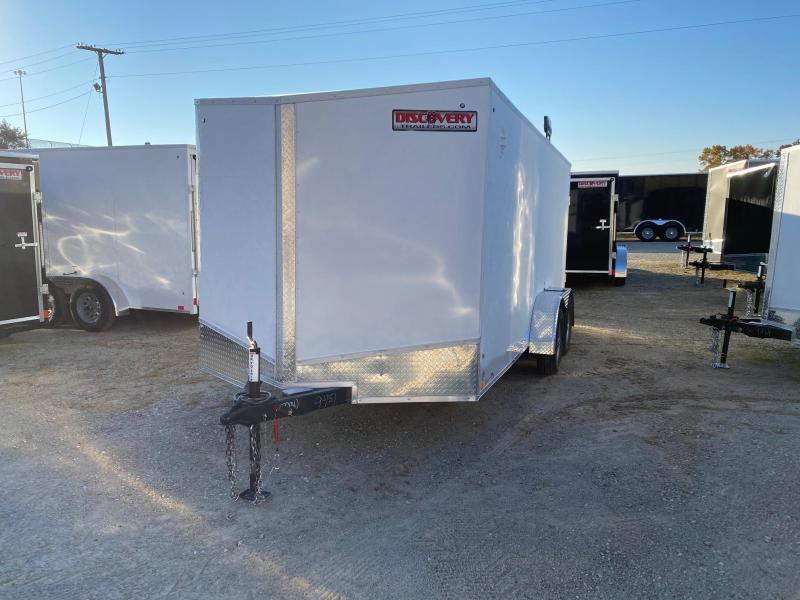 2022 Discovery Rover ET 7X16 7K GVWR Cargo Trailer  $6750